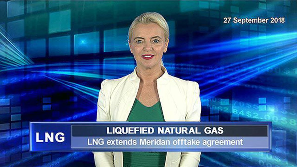 Watch Lng Extends Meridian Offtake Agreement Video The West