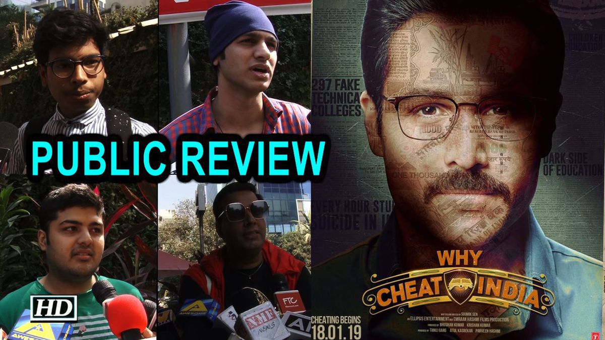 Watch PUBLIC REVIEW | Why Cheat India | Emraan narrates