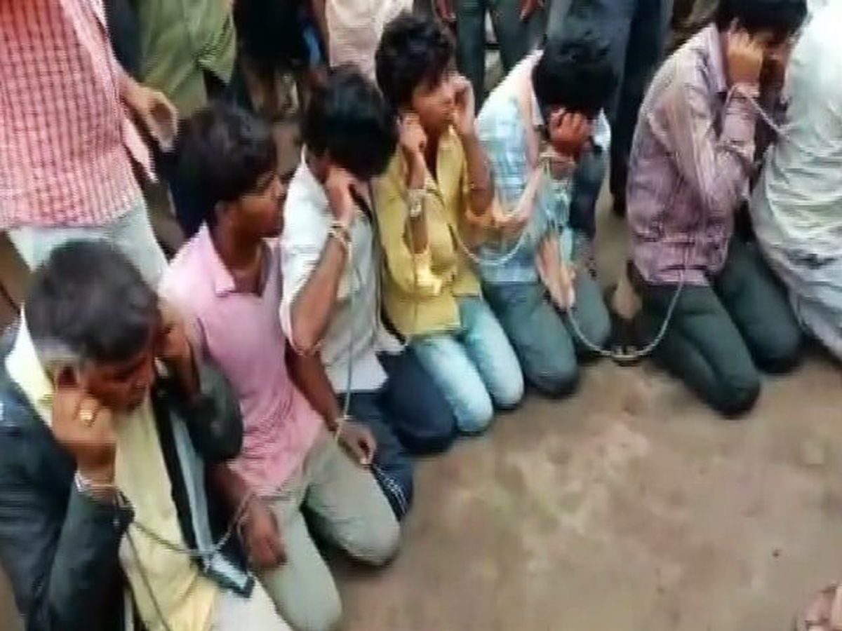 Watch On Video, 24 Thrashed, Forced To Say