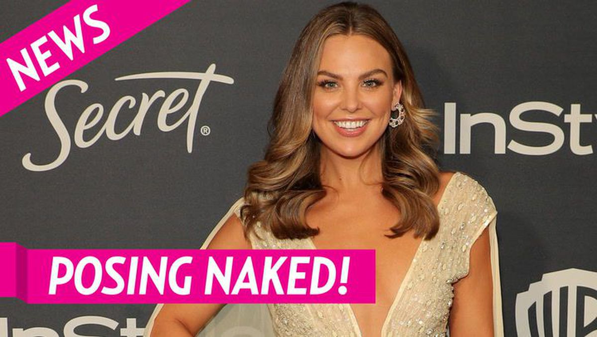 Bachelorette: Hannah Brown Poses Nude in Pool Photo