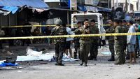 - At least 18 killed in twin bomb attack on Philippine church