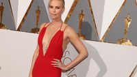 Charlize Theron's mother influenced her to act
