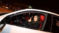 - Saudi women hit the road