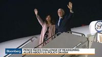 Bloomberg Markets: Asia - Pence Kicks Off Asia Trip, Meets With Abe in Japan