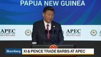 Bloomberg Daybreak: Asia - Xi and Pence Trade Barbs at APEC Summit