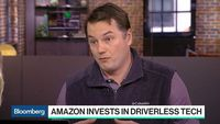 Bloomberg Technology - Aurora CEO Predicts Amazon Self-Driving Cars Will Deliver Goods