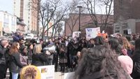 - Students walk out of class to protest education cuts in Ontario