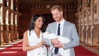 Prince Harry and Meghan Markle prepare for Archie's Christening