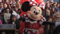 - Katy Perry presents Hollywood Walk of Fame star to Minnie Mouse