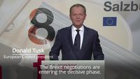 - EU chief tells Theresa May her Brexit plan needs to be 'reworked'