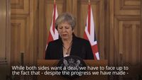 - Theresa May puts ball back in EU's court amid Brexit impasse