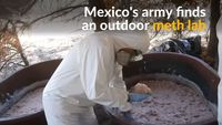 - Mexico's army busts drug lab near the U.S.-Mexican border