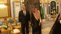 - Pompeo meets Saudi king on Khashoggi case