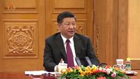 - China's Xi is on his way to Pyongyang