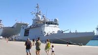 - Spain sends warship to rescue stranded migrants