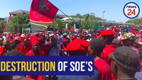 WATCH: Pravin will destroy Eskom and SAA in order to privatise them - EFF