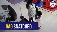 WATCH: Woman uses children to steal at Paarl Mall