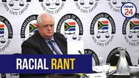 LISTEN: 'That k****r needs a good hiding' - Angelo Agrizzi utters a string of racist slurs