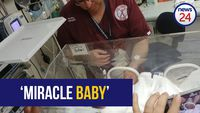 WATCH: Durban baby rescued from storm drain a 'miracle' - doctor