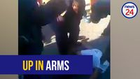 WATCH: Mitchells Plain residents hurl insults at police as they arrest injured man