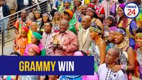 WATCH: Ramaphosa hails Soweto Gospel Choir on their Grammy award