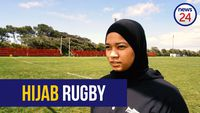 Hijab wearing rugby player, a first for UCT