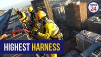 WATCH: Over the edge with a high rise window washer