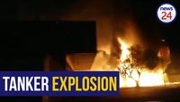 WATCH: Gas tanker explodes in Worcester, buildings on fire