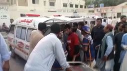 More than 85 people killed in Pakistan's deadliest suicide attack in over a year