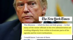 Anonymous Trump official pens damning NYT op-ed