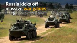 Russia begins its biggest war games since fall of Soviet Union