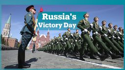 Russia showcases its military hardware in Victory Day parade