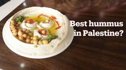 We hunt for the best hummus in Palestine