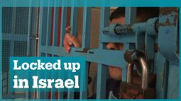 Palestinian child prisoners in Israel