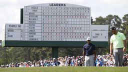 b534c2ff0 Tiger rocks Augusta, but 5 others share Masters lead | Sport24