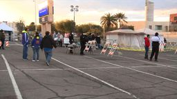 Vegas moves homeless population amid outbreak