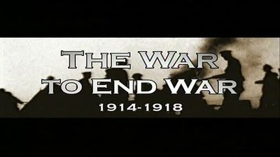 The War To End War