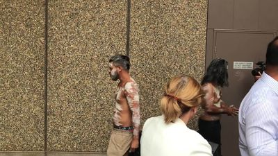 RAW: Bowraville community members outside High Court in Sydney
