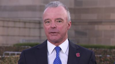 Emotional Brendan Nelson describes 'what is the meaning' of Anzac Day