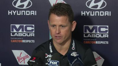I'm not sure we wwere kicked out - Blues coach says player meeting was somewhat planned