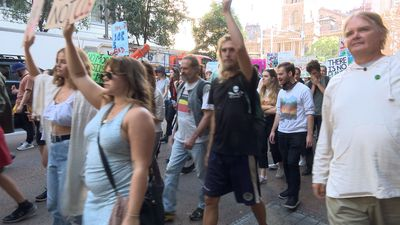 Call for action on climate at Sydney rally