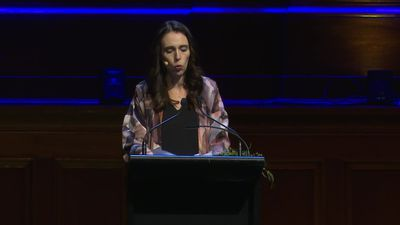Highlights of Jacinda Ardern speech in Melbourne