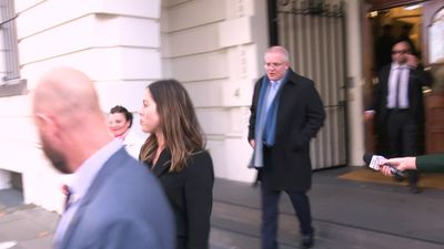 Morrison says meeting with Ardern was positive - lists things they didn't speak about