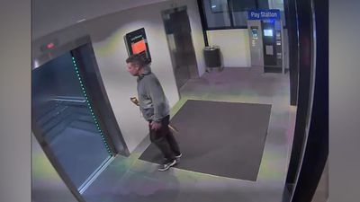 File: CCTV footage of Jonathan Dick - with police and appeal by his uncle to come forward