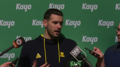 Chris Goulding says the Boomers improve in leaps and bounds each time the play together