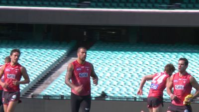 RAW: Sydney Swans training vision