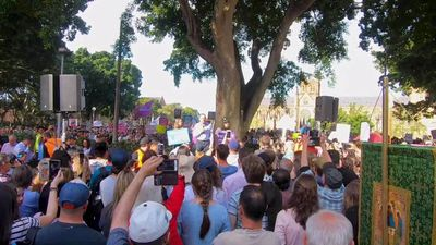 Infanticide on demand: Abbott and Joyce amp up anti-abortion rally