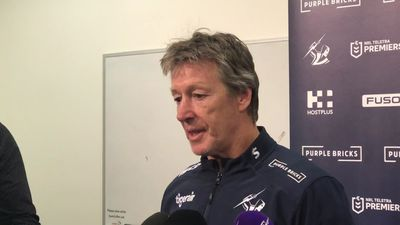 Storm won't dwell on Raiders loss but can improve: Bellamy