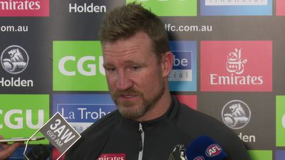 Full Nathan Buckley press conference as the Pies head towards a preliminary final