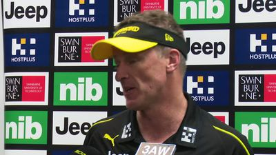 Damian Hardwick says Dusty plays where Dusty feels like playing - but he'd rather it was on the ball